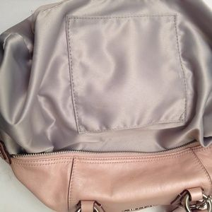 Coach Bags - COACH ASHLEY PEAL PINK CARRYALL TOTE SATCHEL